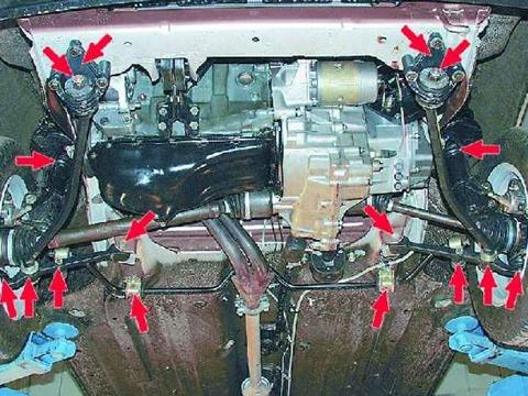 Ваз 21093 ремонт своими руками передняя подвеска